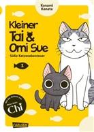 Konami Kanata - Kleiner Tai & Omi Sue - Süße Katzenabenteuer. Bd.1