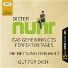 Dieter Nuhr, Dieter Nuhr - Das Geheimnis des perfekten Tages / Die Rettung der Welt / Gut für dich!, 3 Audio-CD, MP3 (Hörbuch)