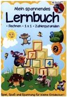 media Verlagsgsellschaft mbH - Mein Lernbuch für die Vorschule - Rechenspaß mit den Zahlen von 1 bis 10