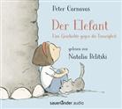 Peter Carnavas, Natalia Belitski - Der Elefant, 2 Audio-CD (Hörbuch)