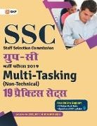 Gkp - SSC 2019 Group C Multi-Tasking (Non Technical) - 19 Practice Sets Hindi