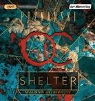 Ursula Poznanski, Jens Wawrczeck - Shelter, 1 Audio-CD, MP3 (Hörbuch)
