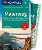Bernhard Pollmann - KOMPASS Wanderführer Malerweg - Auf den Spuren der Romantiker durch die Sächsische Schweiz