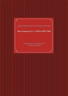 Johann Sebastian Bach, Eberhard Schnebel - Bachs Solopartita Nr. 3 in E-Dur BWV1006