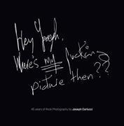 Joseph Carlucci, Joseph Carlucci - 45 Years of Rock Photography by Joseph Carlucci