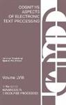 Herre van Oostendorp, UNKNOWN, Herre van Oostendorp - Cognitive Aspects of Electronic Text Processing