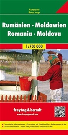Freytag-Berndt und Artaria KG, Freytag-Bernd und Artaria KG - Freytag Berndt Autokarte: Freytag & Berndt Autokarte Rumänien, Moldawien. Romania, Moldova / Roumanie, Moldavie
