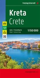 Freytag-Berndt und Artaria KG, Freytag-Bernd und Artaria KG - Freytag Berndt Autokarte: Freytag & Berndt Autokarte Kreta. Crete. Creta