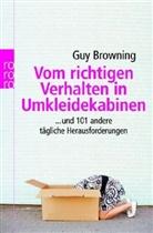 Guy Browning - Vom richtigen Verhalten in Umkleidekabinen