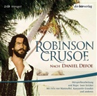 Daniel Defoe, Konstantin Graudus, Felix von Manteuffel, Moise Matura - Robinson Crusoe, 2 Audio-CDs (Hörbuch)