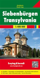 Freytag-Berndt und Artaria KG, Freytag-Bernd und Artaria KG - Freytag Berndt Autokarte: Freytag & Berndt Autokarte Siebenbürgen / Transylvania / Transilvania / Transsilvanie
