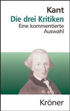 Immanuel Kant - Die drei Kritiken in ihrem Zusammenhang mit dem Gesamtwerk