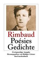 Arthur Rimbaud, Rüdige Görner, Rüdiger Görner - Poèsies. Gedichte