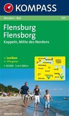 Kompass Karten: KOMPASS Wanderkarte Flensburg / Flensborg - Kappeln