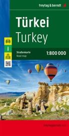 Freytag-Berndt und Artaria KG - Freytag Berndt Autokarte: Freytag & Berndt Autokarte Türkei. Turkey. Türkiye. Turquie. Turchia
