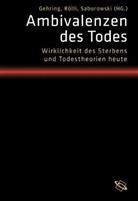Petra Gehring, Marc Rölli, Maxine Saborowski - Ambivalenzen des Todes