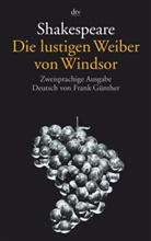 William Shakespeare, Fran Günther, Frank Günther - Die lustigen Weiber von Windsor, Englisch-Deutsch