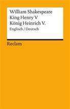 William Shakespeare, Hamblock, Diete Hamblock, Dieter Hamblock, Dieter Hamblot - King Henry V / König Heinrich V.