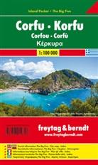 Freytag-Berndt und Artaria KG, Freytag-Bernd und Artaria KG - Freytag Berndt Autokarte: Freytag & Berndt Autokarte Korfu