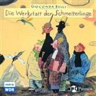 Gioconda Belli, Ulrich Matthes, Friedhelm Ptok, Katharina Thalbach - Die Werkstatt der Schmetterlinge, Audio-CD (Hörbuch)