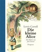 Lewi Carroll, Lewis Carroll, John Tenniel, John Tenniel - Die kleine Alice