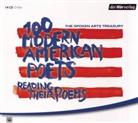 E.E. Cummings, T. S. Eliot, T.S. ELIOT, Allen Ginsberg, Dorothy Parker, Silvia Plath... - The Spoken Arts Treasury, 14 Audio-CDs, 14 Audio-CD (Audio book)