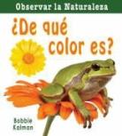 Bobbie Kalman - De Que Color Es? = What Color Is It?