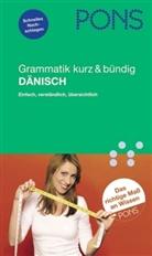 Fix-Bonner - PONS Grammatik kurz & bündig Dänisch