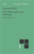 Christian Wolff, Dir Effertz, Dirk Effertz - Erste Philosophie oder Ontologie (Paragraphen 1-78)