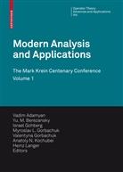 Vadim Adamyan, Vadim (Hrsg.) Adamyan, Yu. M. Berezansky, Yu. M. (Hrsg.) Berezansky, Yu.M. Berezansky, Israel Gohberg... - Modern Analysis and Applications 1