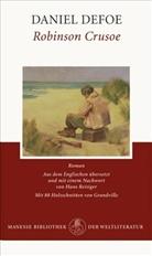 Daniel Defoe, Grandville - Robinson Crusoe