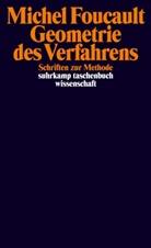 Michel Foucault, Daniel Defert, Françoi Ewald, Francois Ewald, François Ewald, Petra Gehring... - Geometrie des Verfahrens
