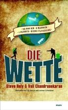 Vali Chandrasekaran, Stev Hely, Steve Hely - Die Wette
