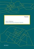 Malakzay Akram, MACKENZIE, Malakza, Akram Malakzay - Großes Wörterbuch Deutsch-Paschto