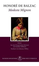 Honore de Balzac, Honoré de Balzac - Modeste Mignon