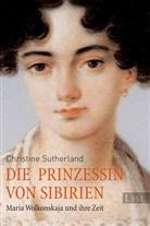 SUTHERLAND, Christine Sutherland - Die Prinzessin von Sibirien