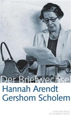 Arend, Hanna Arendt, Hannah Arendt, Arendt Hannah, Scholem, Gersho Scholem... - Hannah Arendt - Gershom Scholem, Der Briefwechsel