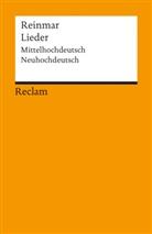 Reinmar, Günthe Schweikle, Günther Schweikle - Lieder