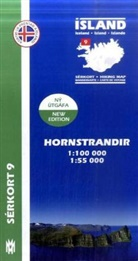 Island - Sérkort Hornstrandir