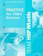 Hsp (COR), Harcourt School Publishers - Math, Grade 1 Practice/Taks Success