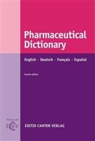 BRAWLEY, James Brawley, Maa, Anit Maas, Anita Maas - Pharmaceutical Dictionary, Englisch-Deutsch-Francais-Espanol