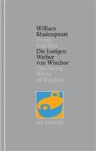 William Shakespeare, William William Shakespeare, Frank Frank Günther, Frank Günther - Gesamtausgabe - 24: Die lustigen Weiber von Windsor / The Merry Wives of Windsor