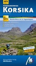 Christoph Berg - Korsika Fernwanderwege MM-Wandern Wanderführer Michael Müller Verlag