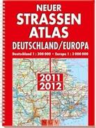 Neuer Straßenatlas Deutschland/Europa 2011/2012