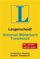 Birgit Klausmann, Langenscheidt-Redaktion - Langenscheidt Universal-Wörterbuch Französisch