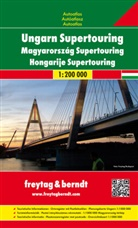 Freytag-Berndt und Artaria KG, Freytag-Bernd und Artaria KG - Freytag Berndt Atlanten: Freytag & Berndt Atlas Ungarn Supertouring. Magyarország Supertouring. Hongarije Supertouring