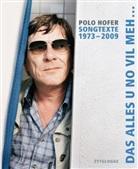 Alice Hofer, Polo Hofer - Songtexte 1973-2009