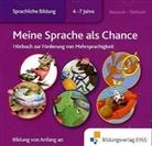 Gila Hoppenstedt, Gil Hoppenstedt, Gila Hoppenstedt - Meine Sprache als Chance: Deutsch-Türkisch, 1 Audio-CD (Hörbuch)