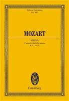 Wolfgang A. Mozart, Wolfgang Amadeus Mozart, C Robbins Landon, H. C. Robbins Landon - Messe c-Moll KV 427/471a, Partitur