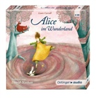 Lewis Carroll, Antje David, Jan-Peter Pflug, Antje David, David Nathan, Barbara Teutsch - Alice im Wunderland, 3 Audio-CDs (Hörbuch)